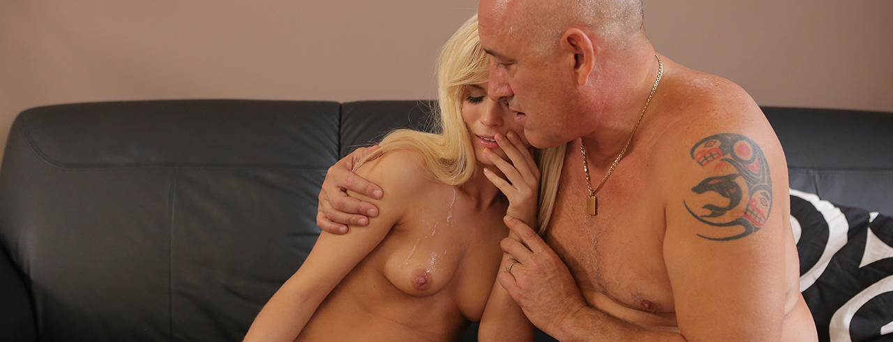Horny blondie wants to try someone little bit more experienced